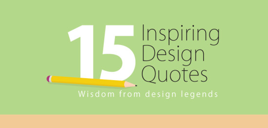 15 inspiring design quotes - náhled