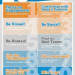 10 tipů pro vaši Facebook stránku – infografika