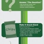 5 tipů pro jednodušší psaní – infografika