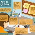 8 způsobů, jak lépe studovat – infografika