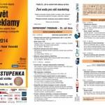 Zveme vás na Svět reklamy 2014 v Brně a Praze!