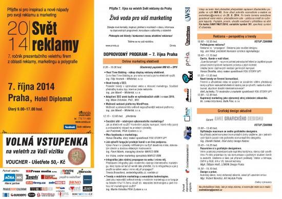 SR Praha pozvanka 2014