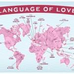 """Víte, jak říci """"miluji tě"""" v různých jazycích? – infografika"""