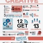 29 způsobů, jak zůstat kreativní – infografika