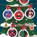 Nejošklivější svetry s vánočním motivem – Infografika
