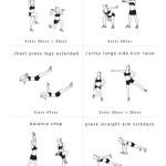 Udržte se ve formě! Stačí vám 30 minut třikrát týdně – Infografika