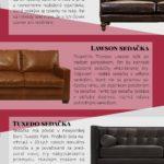 Co ještě nevíte o kožených sedačkách – Infografika