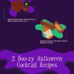 Halloweenské drinky – infografika