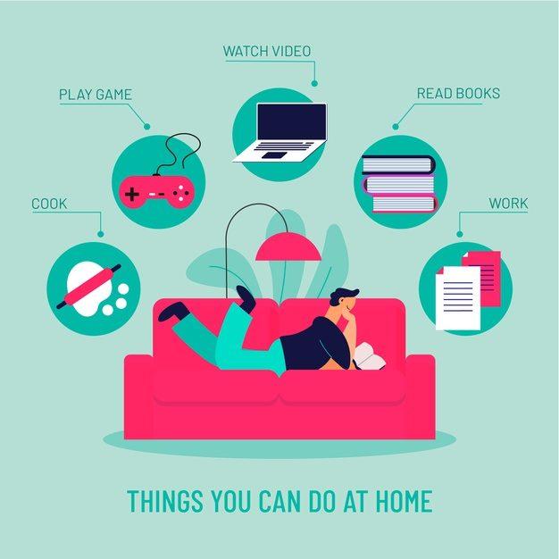 Činnosti, kterým se můžete věnovat doma – stačí si jen vybrat