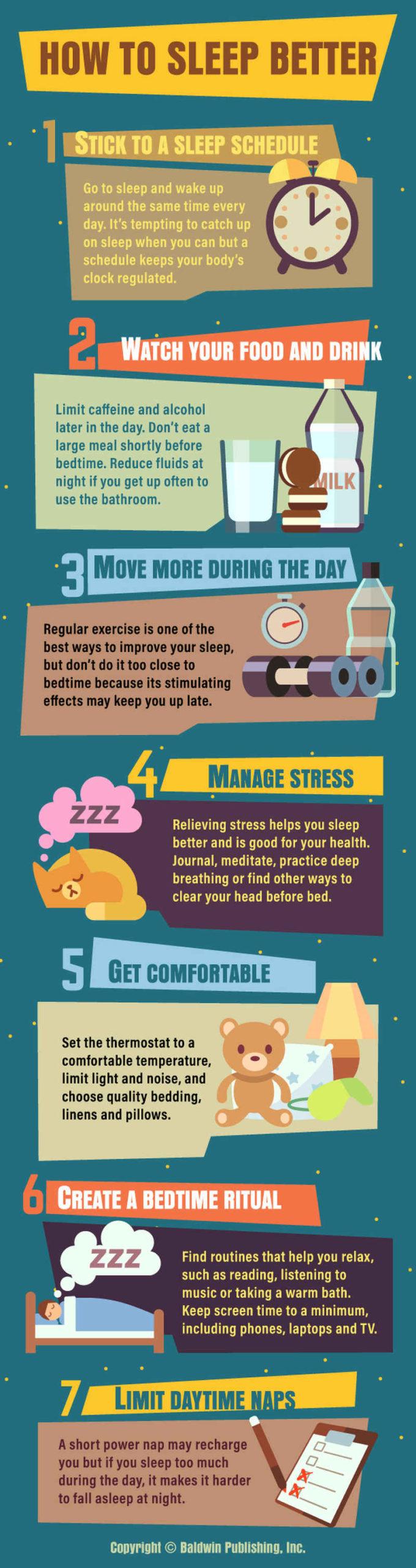 Inspirujte se radami a váš spánek bude efektivnější