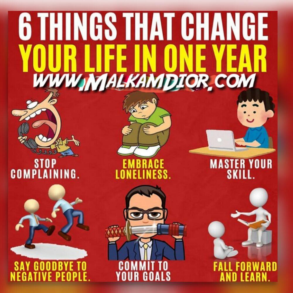 Zlepšete svůj život během jednoho roku