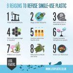 9 důvodů, proč nepoužívat jednorázové plasty